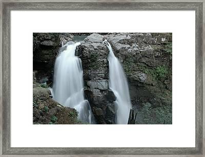 Nooksack Falls Framed Print by Jeff Swan