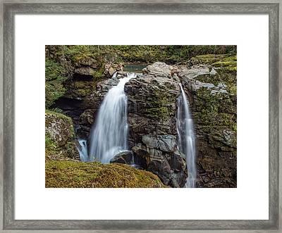 Nooksak Falls Framed Print