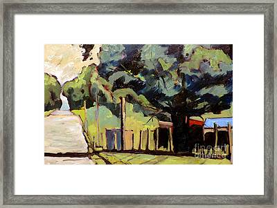 Noon Under The Mulberry Tree Framed Framed Print by Charlie Spear