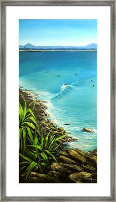 Noosa National Park Framed Print