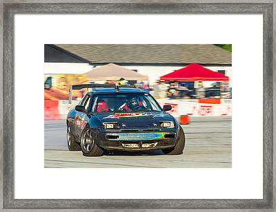 Framed Print featuring the photograph Nopi Drift 1 by Michael Sussman