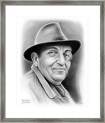 Norbert Jacques Framed Print