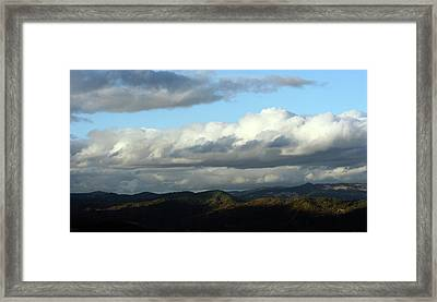 Framed Print featuring the photograph Norcal Wilds by Holly Ethan
