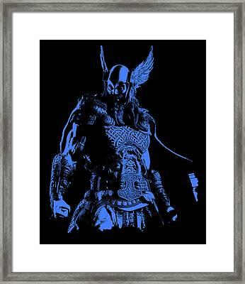 Nordic Warrior Framed Print