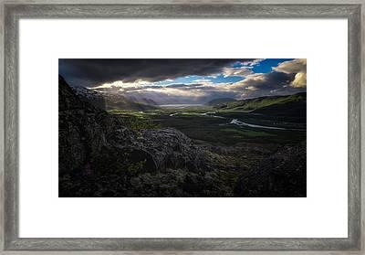 Nordreisa Framed Print