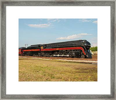 Norfolk And Western J-class 611 Framed Print by John Black