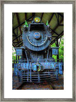Norfolk And Western No 433 Framed Print by Dale R Carlson