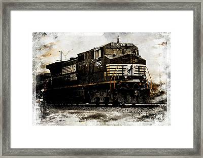 Norfolk Southern Engine 8960 IIi Framed Print by J M Lister