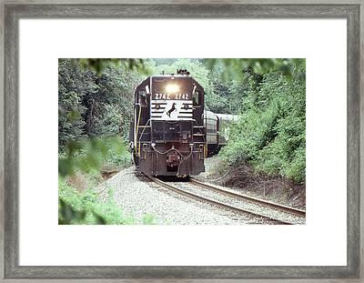 Norfolk Southern Passenger Excursion Framed Print