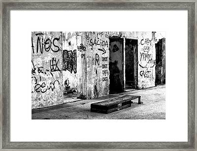 Noriega's Place Framed Print by John Rizzuto