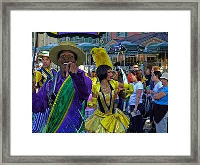 N'orleans Groove Framed Print by S Lynn Lehman