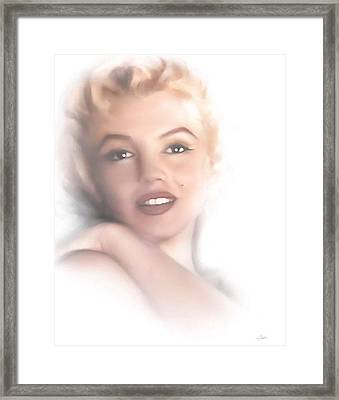 Norma Jeane Framed Print by Peter Chilelli