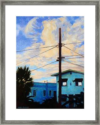 Normal Ave Framed Print by Andrew Danielsen