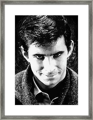 Norman Bates Framed Print