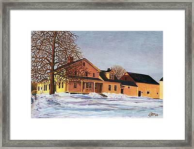 Norman Framed Print