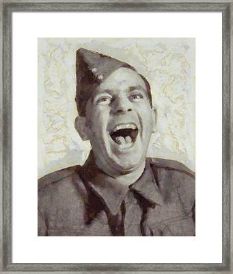 Norman Wisdom, British Comedy Actor Framed Print