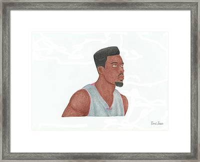 Norris Cole Framed Print