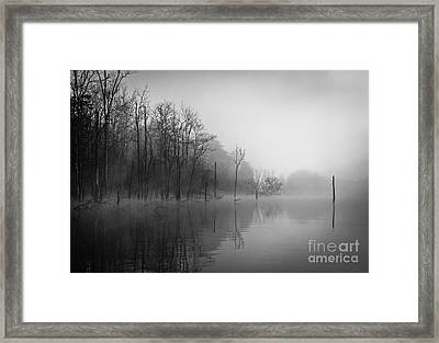 Norris Lake April 2015 3 Framed Print