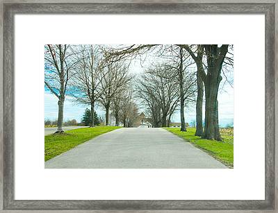 Norristown Farm Park Over The Rise Framed Print