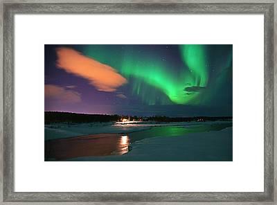 Norrsken 3 Framed Print
