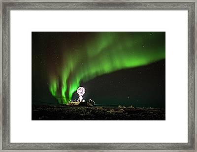 Norrsken Framed Print