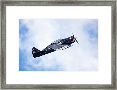 North American Na-50 Framed Print by Brian Knott Photography