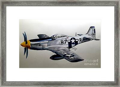 North American P-51 Mustang Framed Print
