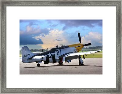 North American P-51 Mustang Framed Print by Jason Green