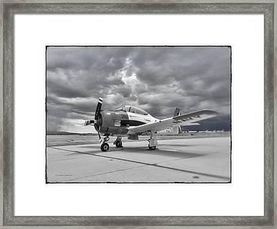 North American T-28 Framed Print