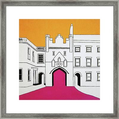 North Bar Framed Print by Oliver Johnston