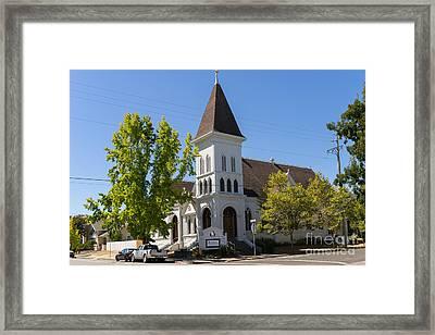 North Bay Revival Center Church Petaluma California Usa Dsc3790 Framed Print