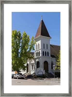 North Bay Revival Center Church Petaluma California Usa Dsc3791 Framed Print
