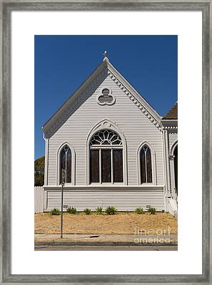North Bay Revival Center Church Petaluma California Usa Dsc3794 Framed Print by Wingsdomain Art and Photography