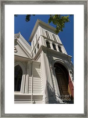 North Bay Revival Center Church Petaluma California Usa Dsc3820 Framed Print