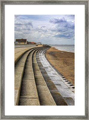 North Beach Heacham Norfolk Framed Print