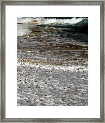 North Beach Oahu I Framed Print
