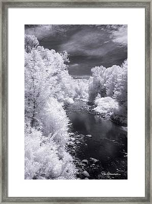 North Branch, Deerfield River 4657 Framed Print