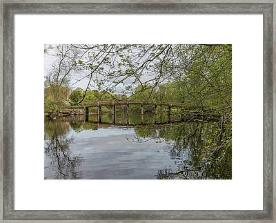 North Bridge Concord Massachusetts Framed Print