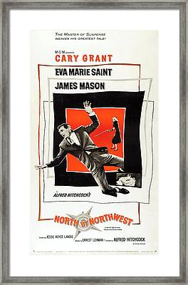 North By Northwest 1959 Framed Print