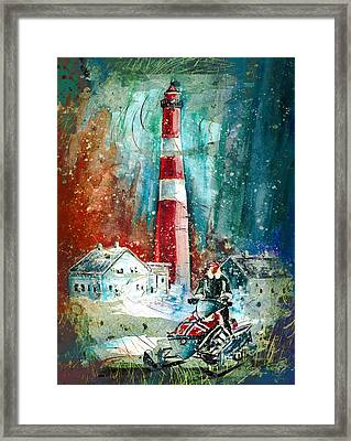 North Cape Authentic Madness Framed Print