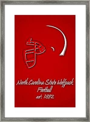 North Carolina State Wolfpack Framed Print by Joe Hamilton