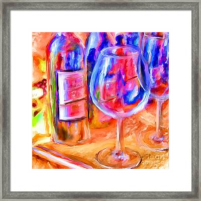 North Carolina Wine Framed Print by Marilyn Sholin
