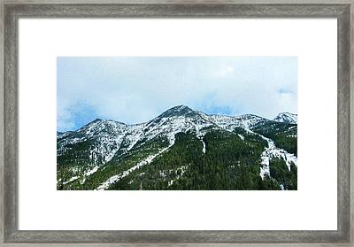 North Cascades Highway Spring View Landscape Photography By Omas Framed Print by Omaste Witkowski