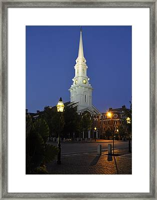 North Church Ncp Framed Print