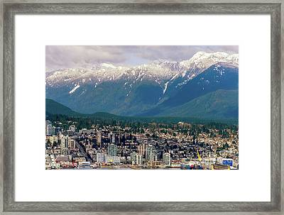 North Vancouver Framed Print by Viktor Birkus