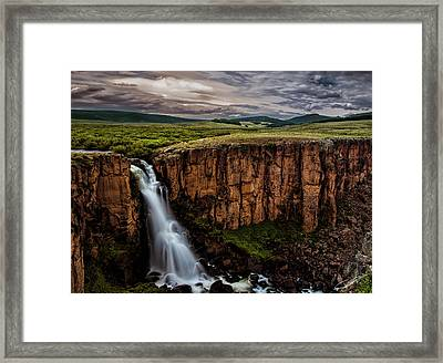 North Clear Creek Falls Framed Print