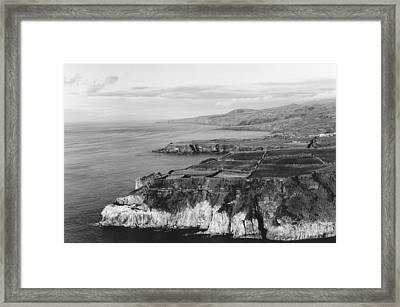 North Coast - Sao Miguel - Azores Framed Print by Henry Krauzyk