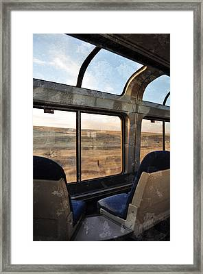 North Dakota Great Plains Observation Deck Framed Print by Kyle Hanson