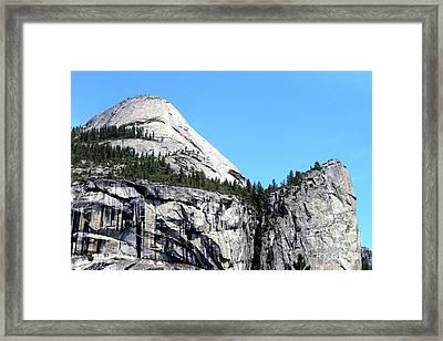North Dome At Yosemite . 7d6255 Framed Print
