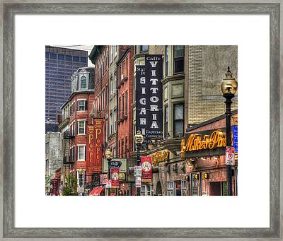North End Charm 11x14 Framed Print by Joann Vitali